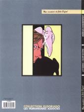 Verso de L'incal - Une aventure de John Difool -5- La Cinquième Essence - 1ère partie - Galaxie qui songe