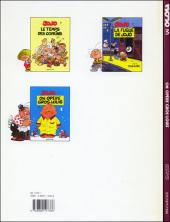 Verso de Jojo (Geerts) -3- On opère Gros-Louis