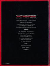 Verso de Jonathan Cartland -4- Le trésor de la femme araignée