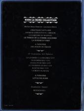 Verso de Jonathan Cartland -5- La rivière du vent