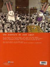 Verso de José Lapin (Une aventure de) -1- Une carotte pour deux