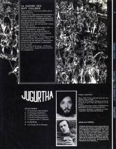 Verso de Jugurtha -5- La guerre des 7 collines