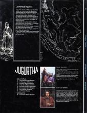Verso de Jugurtha -8- Le Prince rouge