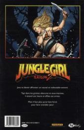Verso de Jungle girl -2- Saison 2