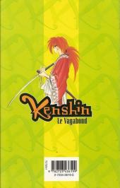 Verso de Kenshin le Vagabond -22- Triple bataille
