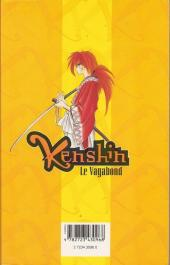 Verso de Kenshin le Vagabond -9- L'Arrivée