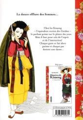 Verso de Histoires de Kisaeng -2- La fleur de lotus et la fleur de poirier