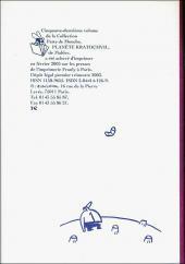 Verso de Kratochvil -3- Planète Kratochvil