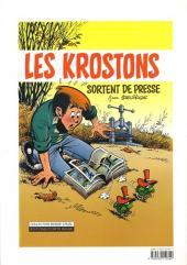 Verso de Les krostons -6- Histoires de krostons