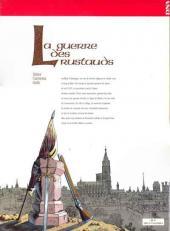 Verso de La guerre des Rustauds - La Guerre des Rustauds - Alsace 1525