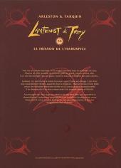Verso de Lanfeust de Troy -5COF- Le frisson de l'Haruspice