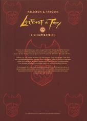 Verso de Lanfeust de Troy -6COF- Cixi impératrice