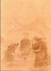 Verso de Lanfeust de Troy -3Ts'- Castel Or-Azur