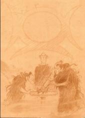 Verso de Lanfeust de Troy -5TL'- Le frisson de l'Haruspice