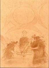 Verso de Lanfeust de Troy -6TL'- Cixi impératrice