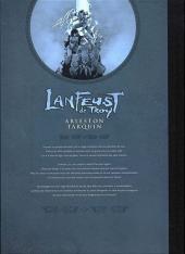 Verso de Lanfeust de Troy -7TL- Les pétaures se cachent pour mourir