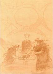 Verso de Lanfeust de Troy -7TL'- Les pétaures se cachent pour mourir