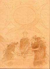 Verso de Lanfeust de Troy -8TL'- La bête fabuleuse