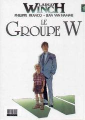 Verso de Largo Winch (France Loisirs) -1- L'héritier / Le groupe W