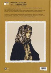 Verso de Lawrence d'Arabie (Tarek/Horellou) -1- La révolte arabe