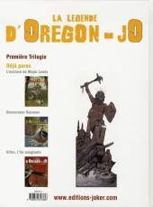 Verso de La légende d'Oregon-Jo -3- Sitka, l'île sanglante