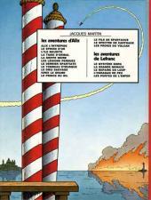 Verso de Lefranc -3b1978- Le mystère Borg