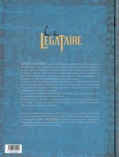 Verso de Le décalogue - Le Légataire -1- Le rendez-vous de Glasgow