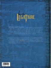 Verso de Le décalogue - Le Légataire -2- Le songe de Médine