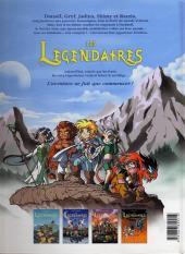 Verso de Les légendaires -4- Le réveil du Kréa-Kaos