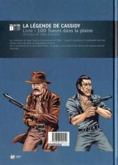 Verso de La légende de Cassidy -1- 100 tueurs dans la plaine