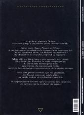 Verso de Légendes des contrées oubliées -1- La saison des cendres