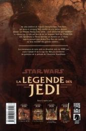 Verso de Star Wars - La légende des Jedi -4- Les Seigneurs des Sith