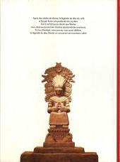 Verso de La légende du Dieu Stentor - La légende du dieu Stentor
