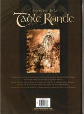 Verso de Légendes de la Table Ronde -2- Le Cerf blanc