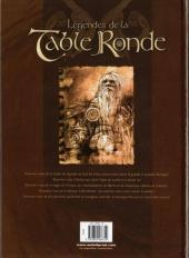 Verso de Légendes de la Table Ronde -3- Le Chevalier noir