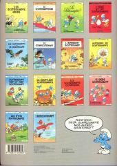 Verso de Les schtroumpfs -14- L'aéroschtroumpf