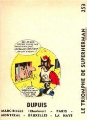 Verso de SuperHerman -3MR1397- Le Triomphe de SuperHerman
