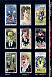 Verso de La ligue des Gentlemen Extraordinaires -2- La ligue des Gentlemen extraordinaires Volume 2