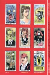 Verso de La ligue des Gentlemen Extraordinaires -3- La ligue des Gentlemen extraordinaires Volume 3