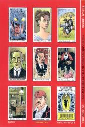 Verso de La ligue des Gentlemen Extraordinaires -4- La ligue des Gentlemen extraordinaires Volume 4