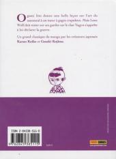 Verso de Lone Wolf & Cub -9- L'écho de l'assassin
