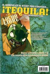 Verso de Lucha Libre -1- Introducing: The Luchadores Five