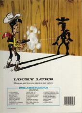 Verso de Lucky Luke -32c85- La diligence