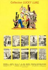 Verso de Lucky Luke -15- L'évasion des Dalton