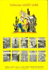 Verso de Lucky Luke -17- Sur la piste des Dalton