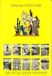 Verso de Lucky Luke -18- À l'ombre des derricks