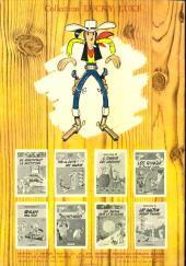 Verso de Lucky Luke -24- La caravane