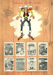 Verso de Lucky Luke -29- Des barbelés sur la prairie