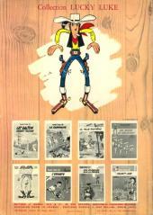 Verso de Lucky Luke -31- Tortillas pour les Dalton