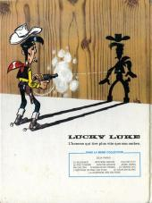 Verso de Lucky Luke -44- La guérison des Dalton